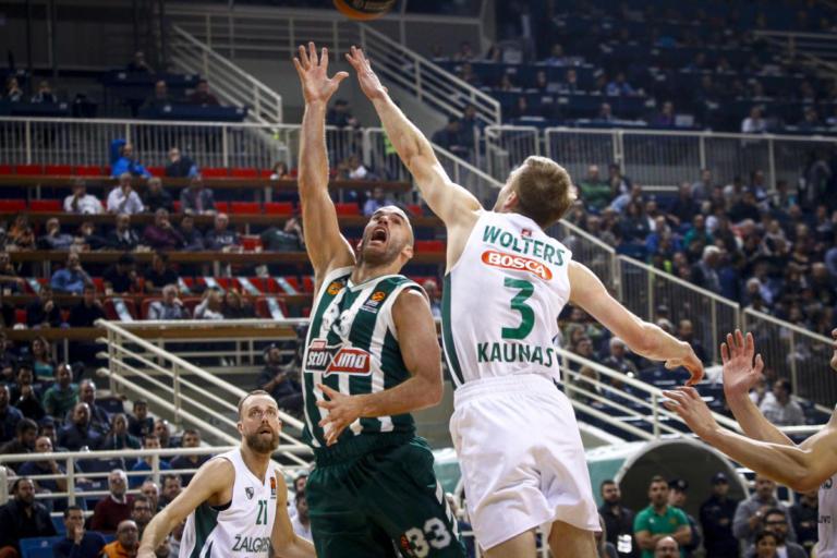 Παναθηναϊκός – Ζαλγκίρις Κάουνας 83-87 ΤΕΛΙΚΟ   Newsit.gr