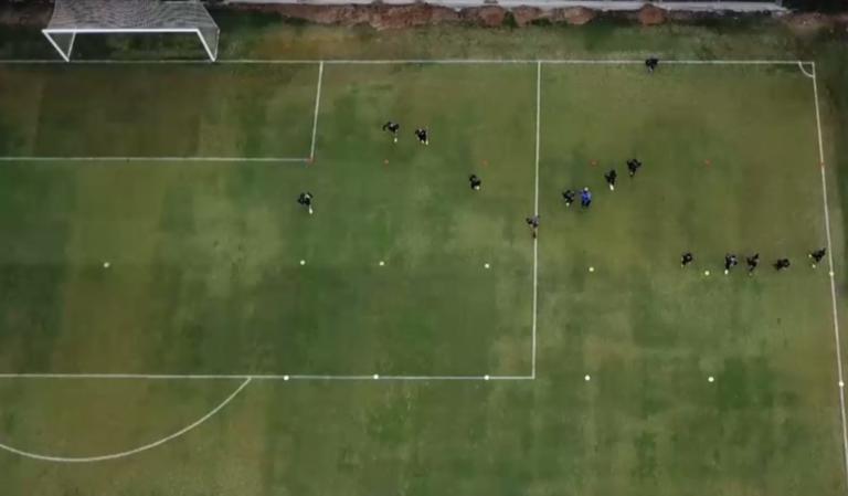 Εντυπωσιακό video του ΠΑΟΚ! Η προπόνηση της ομάδας από ψηλά | Newsit.gr