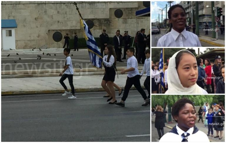 28η Οκτωβρίου – Παρέλαση Αθήνας: Ρίγη συγκίνησης για τους σημαιοφόρους! [pics] | Newsit.gr