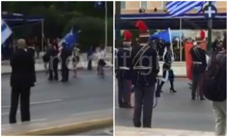 """28η Οκτωβρίου – Παρέλαση: """"Προδότη, ντροπή σου""""! Μικροένταση στην Αθήνα! video   Newsit.gr"""