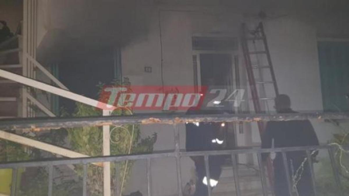 Φωτιά σε σπίτι στην Πάτρα – Κλειδωμένος μέσα τρεις μέρες ο ένοικος! | Newsit.gr