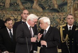 Παυλόπουλος – Σταϊνμάιερ: Χρειαζόμαστε την κοινή Ευρώπη όσο ποτέ