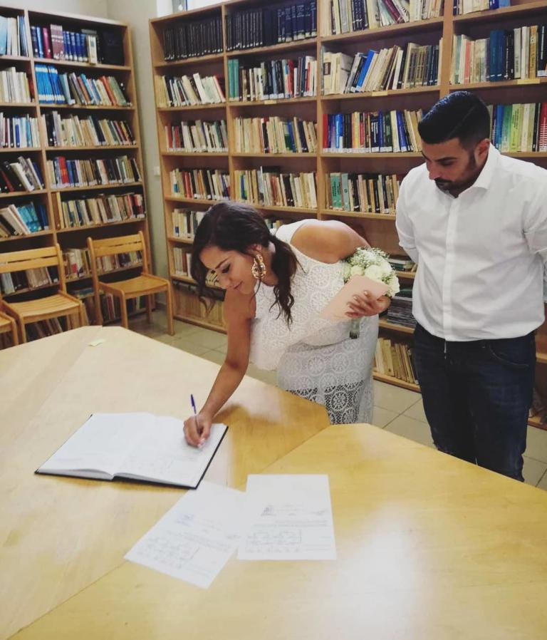 Τριαντάφυλλος Παντελίδης: Ο αδελφός του Παντελή Παντελίδη μόλις παντρεύτηκε την Πωλίνα από το «Καφέ της Χαράς» [pics] | Newsit.gr