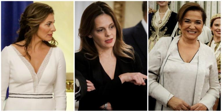 Μπαζιάνα, Αχτσιόγλου, Μπακογιάννη έκλεψαν την παράσταση στο Προεδρικό! [pics] | Newsit.gr