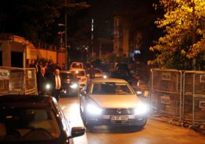 Χαράματα έφυγαν από το σαουδαραβικό προξενείο οι Τούρκοι αστυνομικοί [pics]