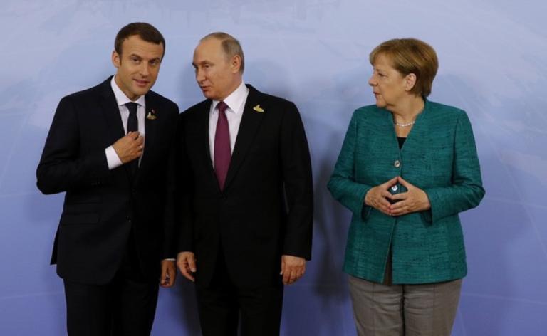 Παρών Μέρκελ και Πούτιν στη Σύνοδο για τη Συρία – Θέτει όρους ο Μακρόν | Newsit.gr