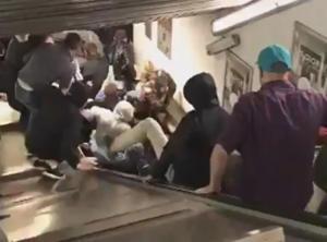 Σκηνές αποκάλυψης στη Ρώμη! Κατέρρευσαν οι κυλιόμενες σκάλες του Μετρό – Συγκλονιστικές μαρτυρίες – video