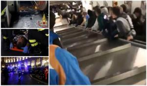 Μετρό… του τρόμου στην Ρώμη! Πήγαινε «σφαίρα» – 20 τραυματίες! video