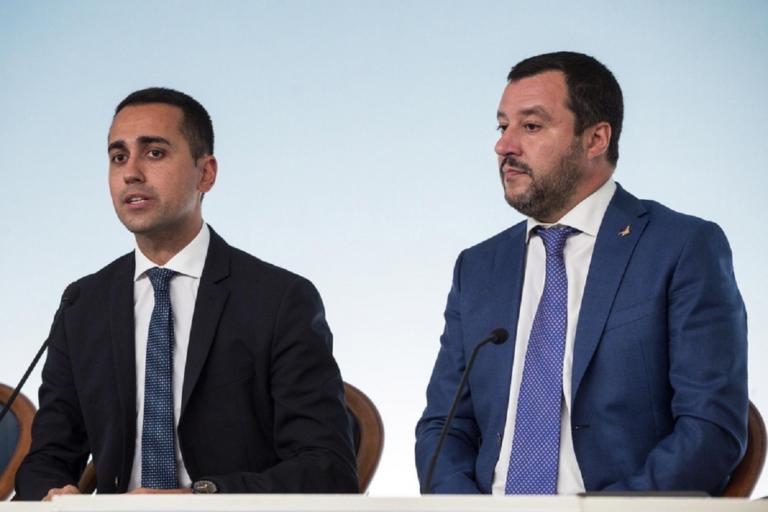 Ιταλία: Συνάντηση Σαλβίνι – Ντι Μάιο για την οικονομική πολιτική | Newsit.gr