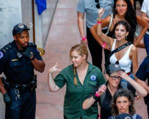 Συνέλαβαν την Έμιλι Ρατακόφσκι και την Έιμι Σούμερ σε πορεία κατά του Κάβανο! video