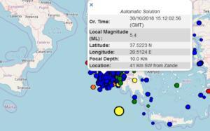 Σεισμός στη Ζάκυνθο – Παπαδόπουλος: Μπορεί να μην είναι ο μεγάλος μετασεισμός