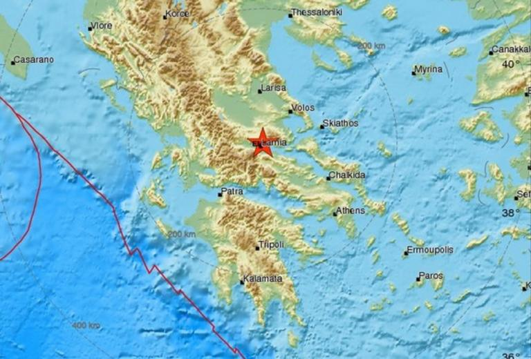 Σεισμός κοντά στη Λαμία   Newsit.gr