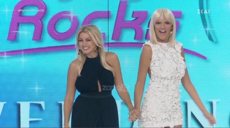 My Style Rocks: Έτσι υποδέχθηκε η Κωνσταντίνα Σπυροπούλου τη Σάσα Σταμάτη στο Gala! | Newsit.gr
