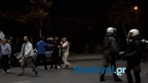 Ένταση στη Θεσσαλονίκη στην πορεία για τον Κωνσταντίνο Κατσίφα – video