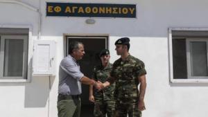 Απίστευτη πρόκληση! Οι Τούρκοι κατηγορούν τον Θεοδωράκη για παραβίαση συνόρων επειδή… πήγε στο Αγαθονήσι! [pic]
