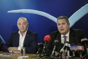 Εμφύλιος στους ΑΝΕΛ και… φίλια πυρά κατά Καμμένου για το Σκοπιανό