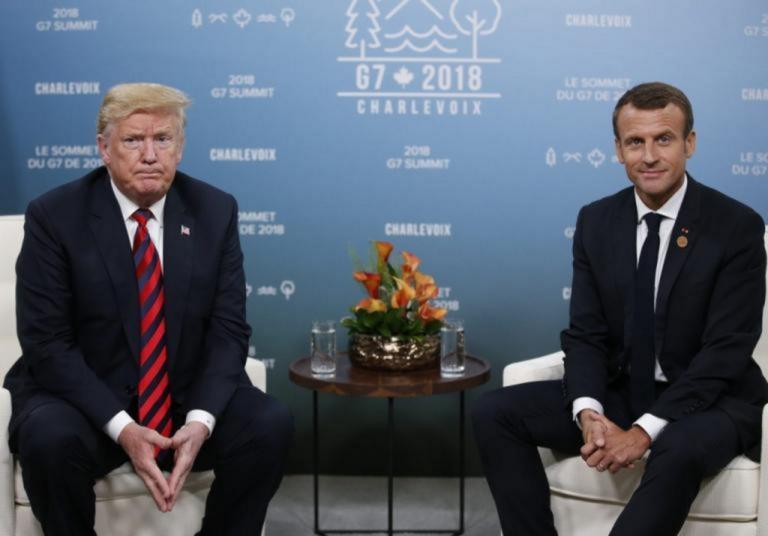 Τραμπ: Τα βρήκε με Μακρόν για τη Συρία – Διεθνής Σύνοδος στην Κωνσταντινούπολη | Newsit.gr
