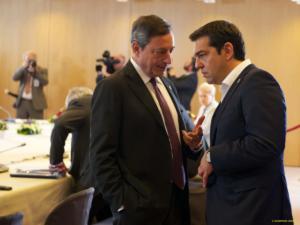 Συνάντηση Τσίπρα με Ντράγκι, Κερέ – Αναγνωρίστηκε η θετική πορεία της ελληνικής οικονομίας
