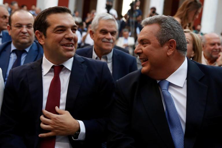 Τσίπρας – Καμμένος: «Μυστική» συνάντηση στη… Ρηγίλλης [pics] | Newsit.gr