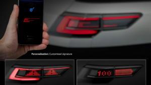 H VW εξελίσσει διαδραστικά φώτα για τα αυτοκίνητά της [vid]