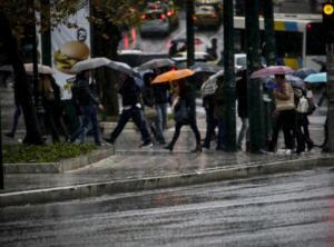 Καιρός: Κυριακή με βροχές και πτώση της θερμοκρασίας