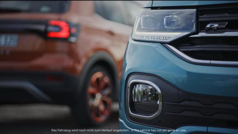 Νέες κλεφτές ματιές στο ολοκαίνουργιο VW T-Cross [vid] | Newsit.gr