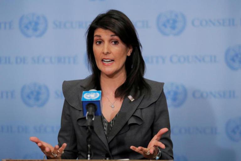Αποκαλύψεις για δωροδοκία της Νίκι Χέιλι μια μέρα πριν την παραίτησή της από τον ΟΗΕ | Newsit.gr