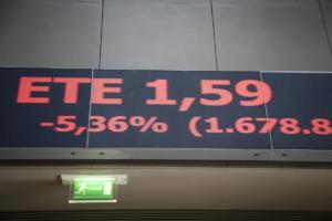 Χρηματιστήριο: Βουτιά 9,5% τον Οκτώβριο για τον Γενικό Δείκτη και 15,81% για τις τράπεζες