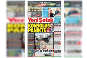Έχουν… ξεφύγει! Η Yeni Safak «βλέπει» σχέδιο εισβολής από την Κρήτη λόγω ΑΟΖ!