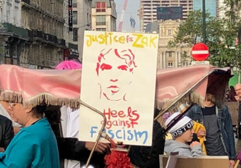 Ζακ Κωστόπουλος: Συγκέντρωση στις Βρυξέλλες στη μνήμη του ακτιβιστή [pics] | Newsit.gr