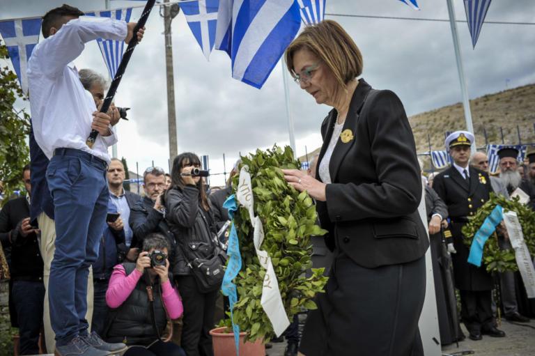 Μυρσίνη Ζορμπά για την εκτέλεση Κατσίφα: Το έμαθα στο δρόμο – Καμία σημαία δεν κατέβηκε