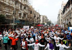 Κάιρο: Ο πρώτος γυναικείος αγώνας δρόμου για την εξάλειψη της βίας [pics]