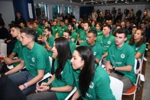 Έναρξη χορηγικής συνεργασίας ΟΠΑΠ και Παναθηναϊκού Αθλητικού Ομίλου