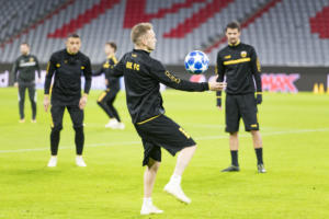 """Μπάγερν – ΑΕΚ: Η προπόνηση των """"κιτρινόμαυρων"""" στην """"Allianz Arena"""" – [pics ,video]"""