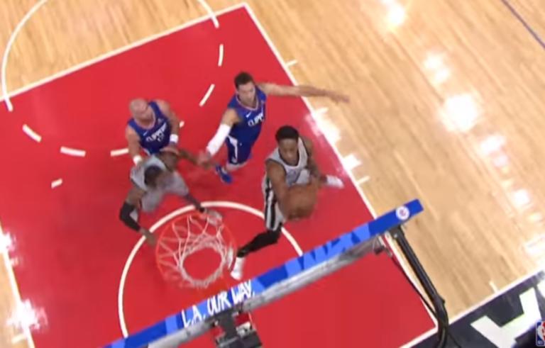 "NBA: ""Χόρεψε"" στον αέρα! Το ""τρελό"" καλάθι του Ντεροζάν – video | Newsit.gr"
