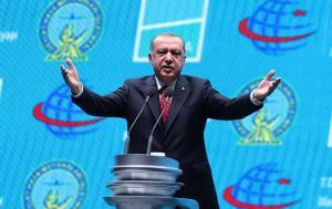 Νέα πρόκληση Ερντογάν: Δεν πρόκειται να παραχωρήσουμε την Ανατολική Μεσόγειο στους πειρατές