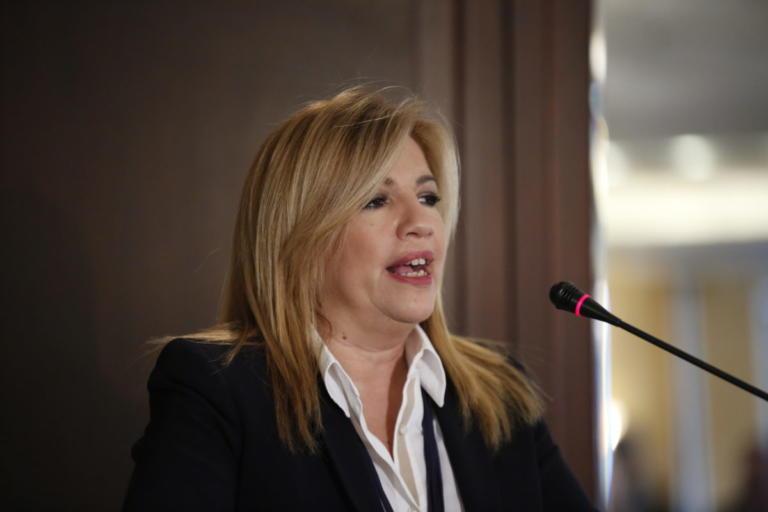 Γεννηματά: Αφουγκραζόμαστε τις αγωνίες αλλά με ανοιχτά σχολεία | Newsit.gr