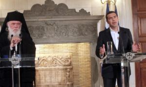 """Τσίπρας – Ιερώνυμος: Στη Βουλή τη """"δήθεν ιστορική συμφωνία"""" φέρνει η Φώφη Γεννηματά"""