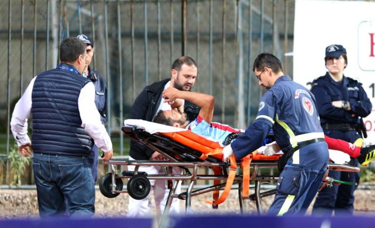 Πανιώνιος: Σύγκρουση και… νοσοκομείο για Κόρμπο – [pics] | Newsit.gr