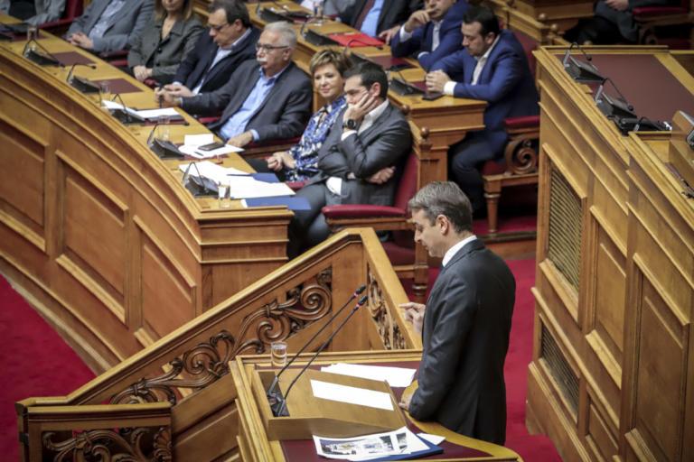 Μητσοτάκης: Περάστε έξω κυρία μου! | Newsit.gr