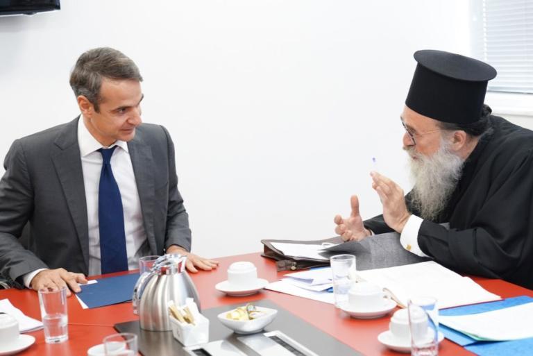 """Μητσοτάκης: """"Δεν πρόκειται να αναγνωρίσουμε μονομερή αλλαγή του εργασιακού καθεστώτος των ιερέων» [pics]   Newsit.gr"""