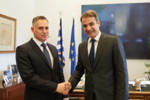 Ο Μητσοτάκης συζήτησε για τις τουρκικές προκλήσεις στην κυπριακή ΑΟΖ με τον Νίκο Παπαδόπουλο [pics]