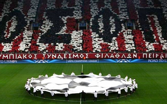 Ολυμπιακός – «18ος σε έσοδα από το Champions League»