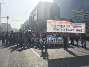 Συγκεντρώσεις και πορείες στην Αθήνα – Της… κινήσεως γίνεται στο κέντρο