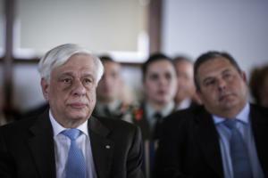Παυλόπουλος: Υπερήφανοι για το ανυπέρβλητο φρόνημα των Ενόπλων Δυνάμεων