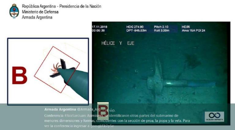 Αργεντινή: Οι φωτογραφίες από το υποβρύχιο Σαν Χουάν | Newsit.gr