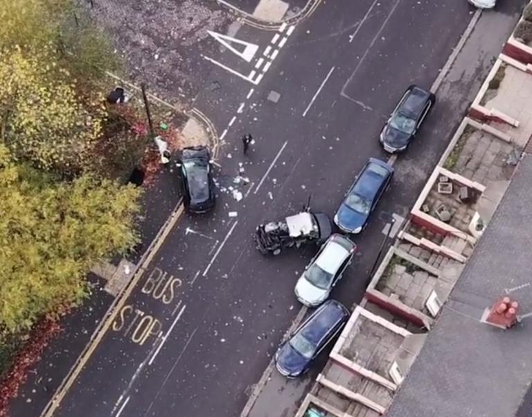 Πολύνεκρο τροχαίο από οδηγό που ήθελε να ξεφύγει από την αστυνομία! Video | Newsit.gr