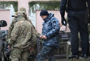 Κριμαία: Στη φυλακή στέλνει ρωσικό δικαστήριο τους Ουκρανούς ναύτες!