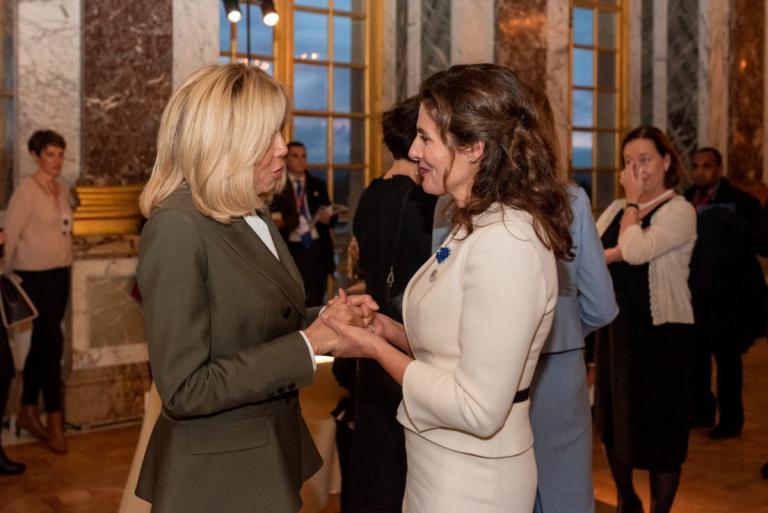 Μπέτυ Μπαζιάνα: Νέες φωτογραφίες μέσα από το δείπνο των ηγετών στο Παρίσι | Newsit.gr