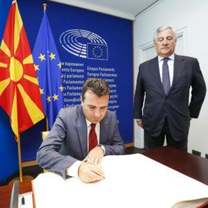 Συμφωνία Πρεσπών: Αρχίζει η αντίστροφη μέτρηση – Την 1η Δεκεμβρίου η ψηφοφορία στη Βουλή των Σκοπίων